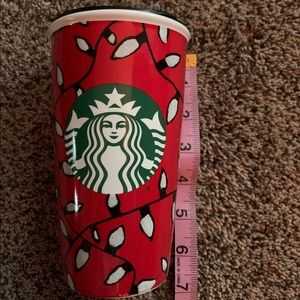 Starbucks Hot Holiday To-Go Cup